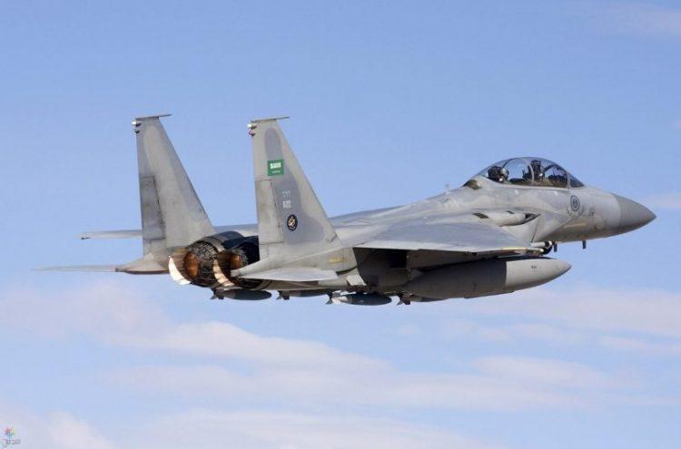 طيران التحالف العربي يشن غارات على مواقع وتعزيزات مليشيا الحوثي في الجوف