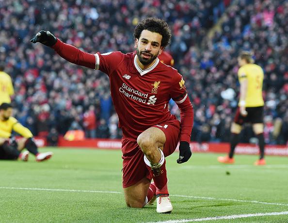انجاز جديد ينتظر محمد صلاح في مباراة ليفربول وكريستال بالاس اليوم