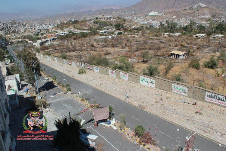 قوات الجيش الوطني تتقدم في الزنوج وتصد هجوما للمليشيات في القصر والتشريفات بتعز