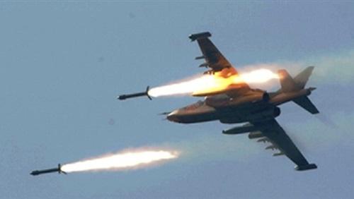 مصرع قيادي في مليشيا الحوثي وتدمير مخازن أسلحة بغارات لطيران التحالف العربي بالبيضاء