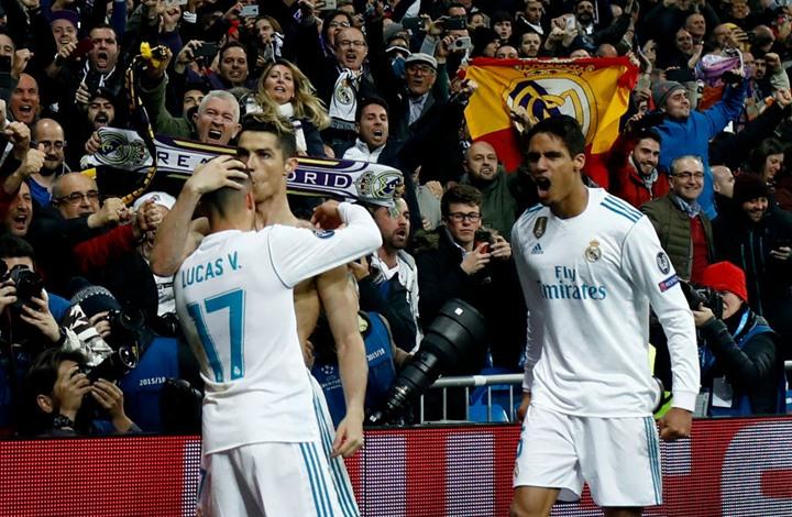 ريال مدريد يتأهل بصعوبة أمام  ضيفه يوفنتوس الإيطالي بضربة جزاء