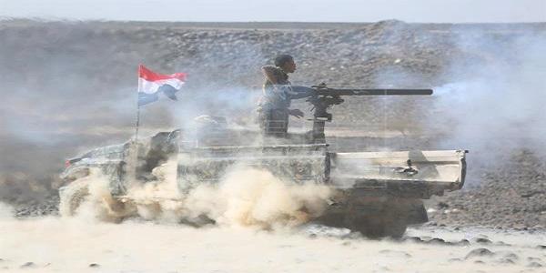 قوات الجيش الوطني تشن هجوما على مواقع المليشيات في أطراف منطقة قانية بالبيضاء