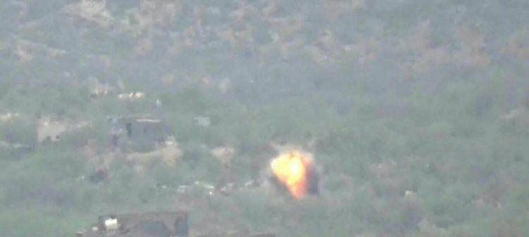 طيران التحالف العربي يشن غارات على مواقع مليشيا الحوثي في محافظة البيضاء