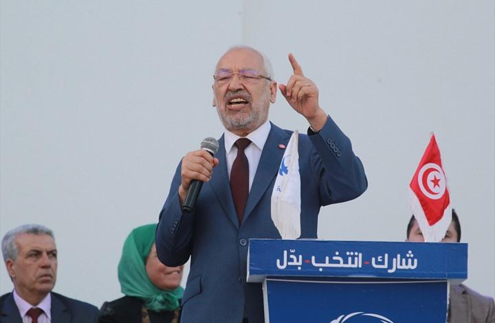 """الغنوشي: لن نسمح بعودة """"الديكتاتورية وأصوات الردة"""" مجددا إلى تونس"""