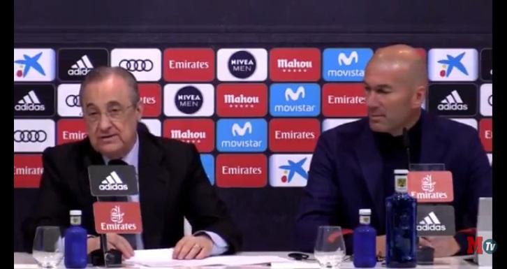 زين الدين زيدان يفاجئ الجميع و يعلن استقالته من تدريب ريال مدريد