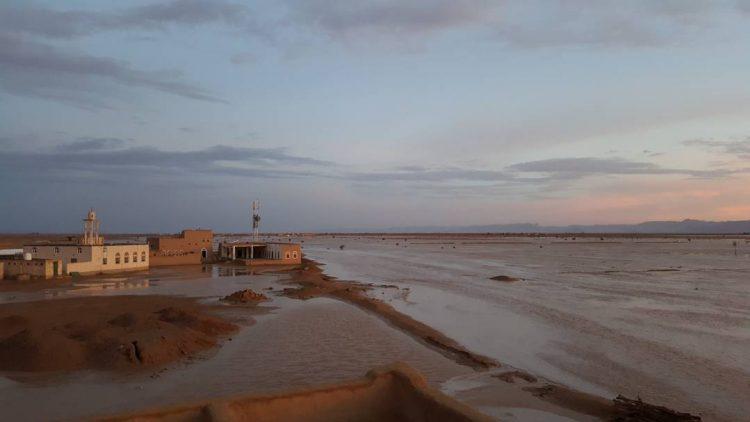 السيول تتسبب بأضرار كبيرة في مخيمات النازحين شمال اليمن