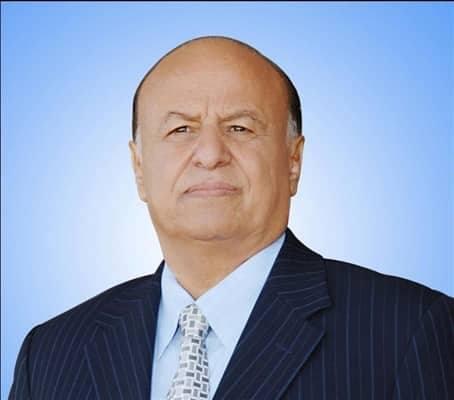الرئيس هادي يهنئ ناشئوا اليمن بالفوز على العراق
