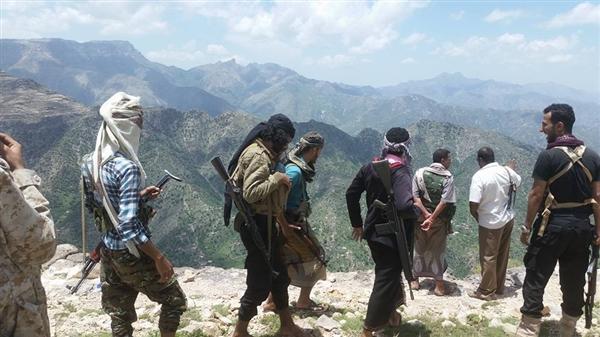 قوات الجيش الوطني تحرر مواقع جديدة في حيفان بتعز ومصرع أكثر من 20 حوثيا