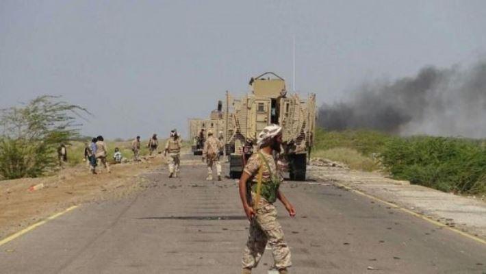 قوات الجيش الوطني تقترب من زبيد ومصرع ما لا يقل عن 50 مسلحا حوثيا