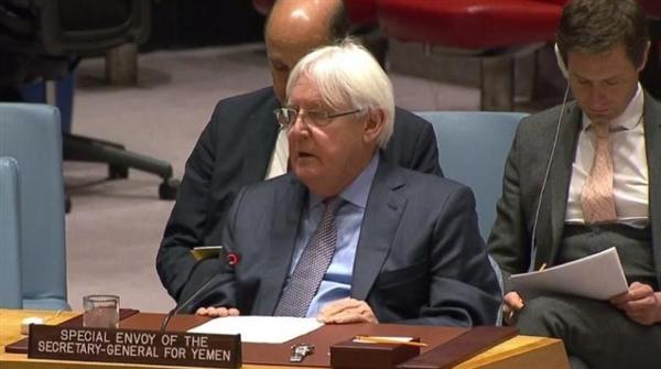 غريفيث وتتويه مجلس الأمن