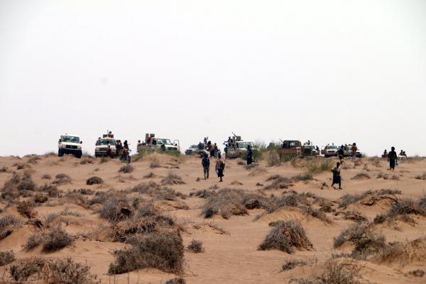 قوات الجيش الوطني تحبط محاولة تسلل لمليشيا الحوثي على مواقعها في الجاح