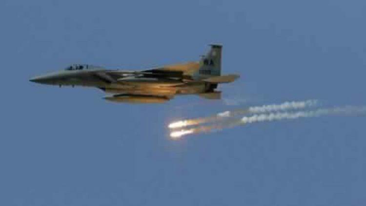 طيران التحالف يستهدف ب12 غارة تعزيزات لمليشيا الحوثي