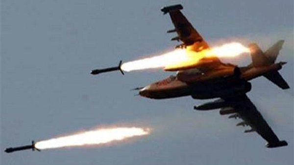طيران التحالف العربي يشن غارات على معسكرا لمليشيا الحوثي في حجة