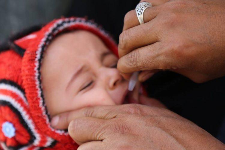تدشين حملة للتحصين ضد شلل الاطفال في اغسطس