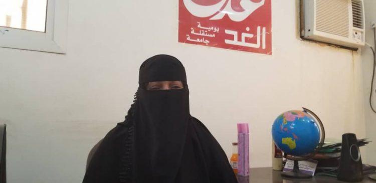 المواطنة سحر باعباد تشكو عدم تفاعل أمن عدن مع بلاغات المواطنين