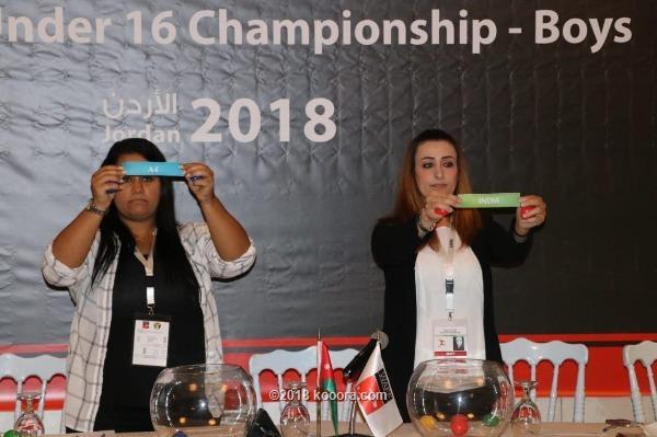 جدول بداية مباريات غرب أسيا لكرة القدم والأردن يواجه الهند بافتتاح البطولة