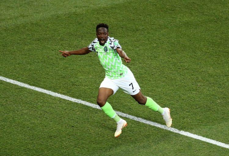 ماذا قال النيجيري احمد موسى بعد انضمامه لنادي النصر السعودي