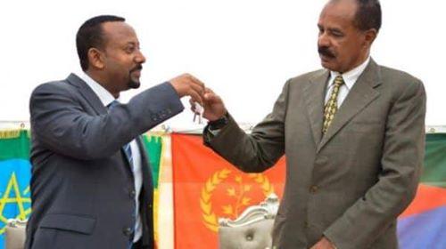 إرتيريا تسير أول رحلة جوية إلى إثيوبيا لأول مرة منذ20 عاماَ