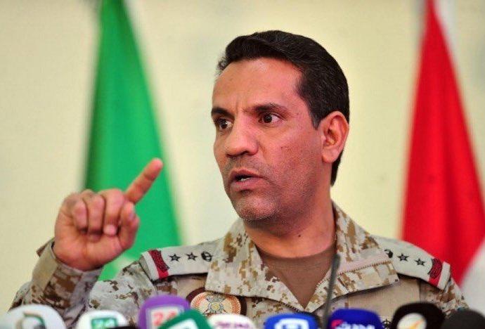 متحدث التحالف العربي: إدعاءات الإنقلابيين حول غارة التحالف على صعدة كاذبة