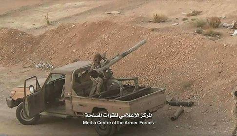 مصرع ما لا يقل عن 10 من عناصر الحوثيين في معارك بجبهة المصلوب محافظة الجوف