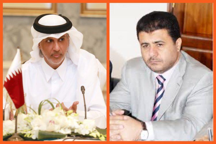 رئيس الاتحاد القطري لكرة القدم يهنئ الشيخ احمد العيسي بحلول عيد الاضحى المبارك