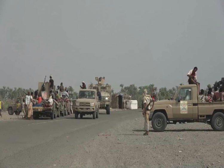 قوات الجيش الوطني تحبط هجوما لمليشيا الحوثي من أربعة إتجاهات على مدينة حيس