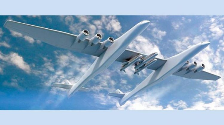 تستخدم لنقل صواريخ تحمل أقماراً صناعية.. الاعلان عن اقتراب إقلاع أضخم طائرة في العالم