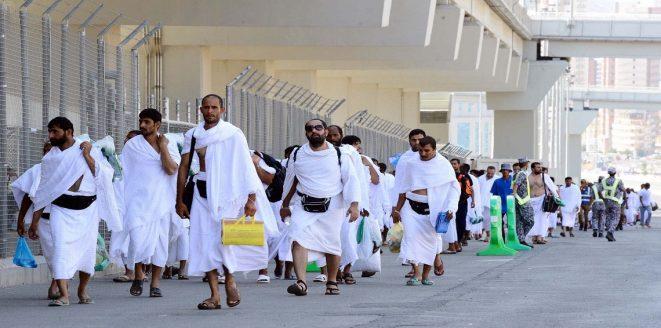 بعثة الحج اليمنية تتصدر 165 دولة في عملية المسار الالكتروني