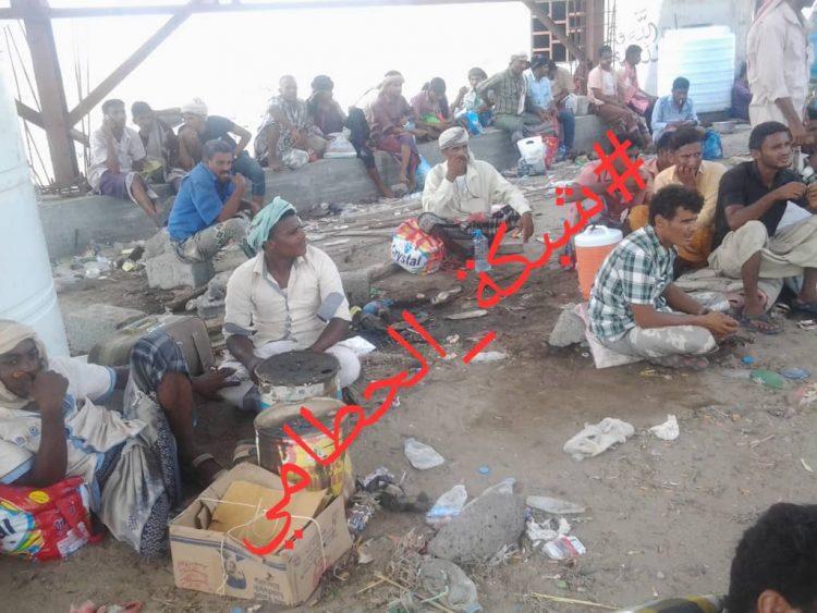 لحج: نقطة الوهط التابعة للحزام الامني تبتز المسافرين من تعز والحديدة وتسمح بمرور جنود طارق عفاش
