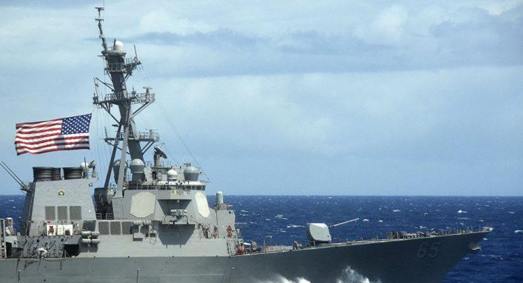 ضبط قارباً على متنه مئات القطع من الأسلحة في خليج عدن