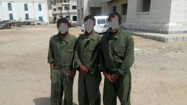 خفر السواحلل تتسلم ثلاثة مهربين من الاسطول الامريكي في خليج عدن