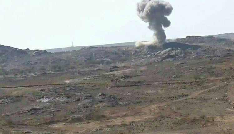 35 عنصرا حوثيا بينهم قيادات يلقون مصرعهم وتدمير مخازن أسلحة بغارات للتحالف في البيضاء