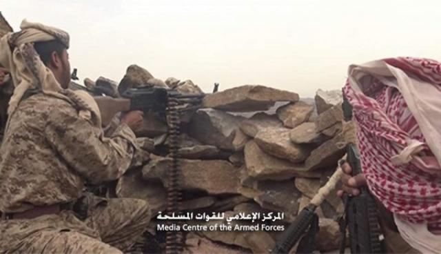 الجيش الوطني يتمكن من السيطرة على سلاسل جبلية في صعدة