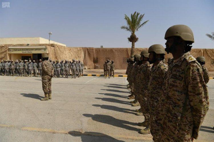 """إنطلاق التمرين المشترك"""" الحزم 1″ بين القوات البرية السعودية ونظيرتها السودانية"""