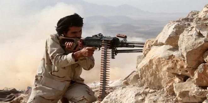 """4 حوثيين يلقون مصرعهم في كمين نصبته مقاومة البيضاء في منطقة """"المضيق"""""""