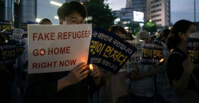 """23 يمنياً يحصلون على """"إقامة إنسانية"""" لمدة عام واحد في كوريا الجنوبية"""