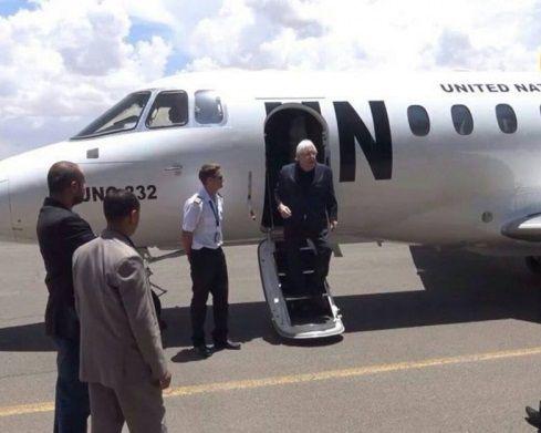 المبعوث الأممي يصل صنعاء في مسعى لإنعاش مشاورات السلام بعد فشلها قبل أيام