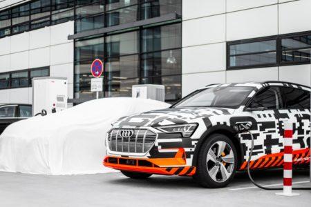 أودي تعزز مجموعتها الواسعة من خيارات شحن سيارة Audi e-tron
