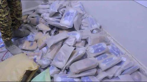 الأجهزة الأمنية في البيضاء تضبط 114 كيلوجرام من الحشيش المخدر كانت في طريقها للحوثيين