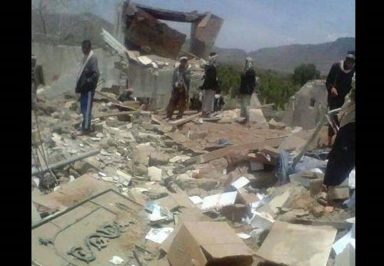 الحكومة تدين تفجير مليشيا الحوثي الارهابية لمسجد في ذمار