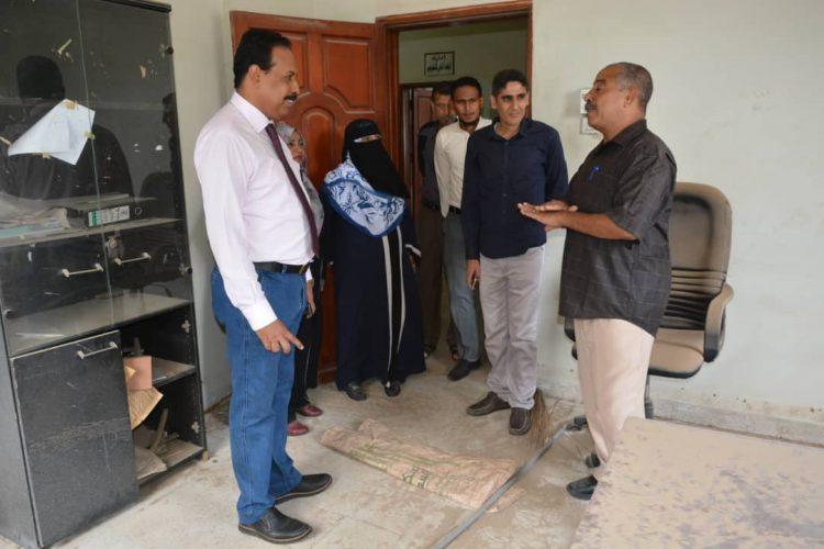 وكالة سبأ اليمنية للأنباء تستعد لترميم مبنى فرعها في عدن