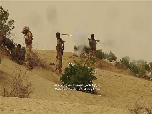 الجيش الوطني يدخل مديرية حرض بحجة ويحرر عدة مواقع بعد تحرير مثلث عاهم