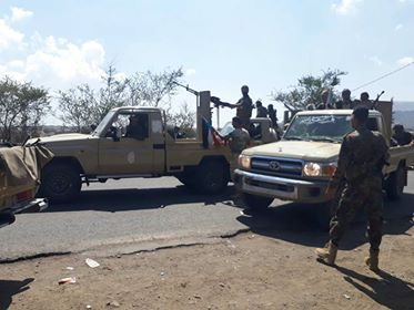 معارك عنيفة في الضالع والجيش الوطني يستكمل تحرير منطقة استراتيجية