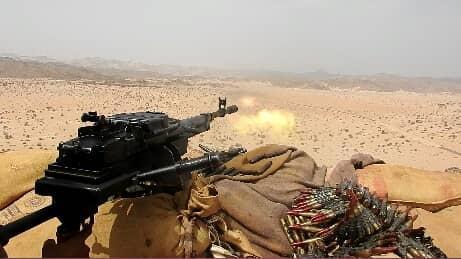 قوات الجيش تحبط محاولة تسلل بالمتون وسقوط قتلى وجرحى في صفوف المليشيات