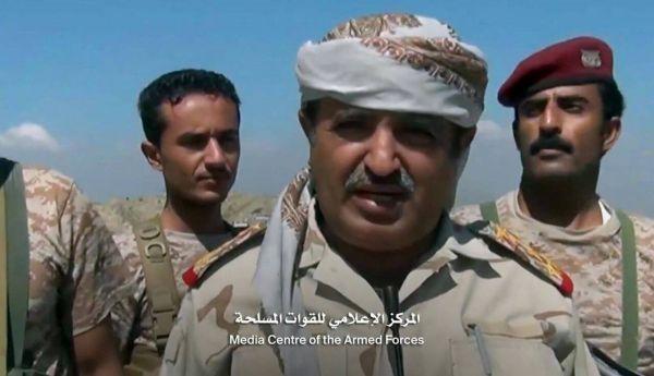 قائد اللواء 17 مشاة ينجو من محاولة اغتيال في مقر محور تعز العسكري