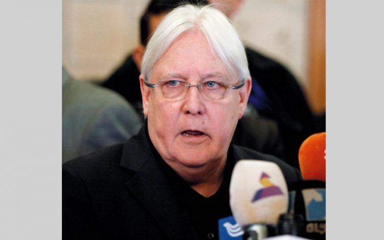 """المبعوث الأممي لليمن """"مارتن غريفيث"""" يصدر اليوم بيان زيارته للحديدة"""