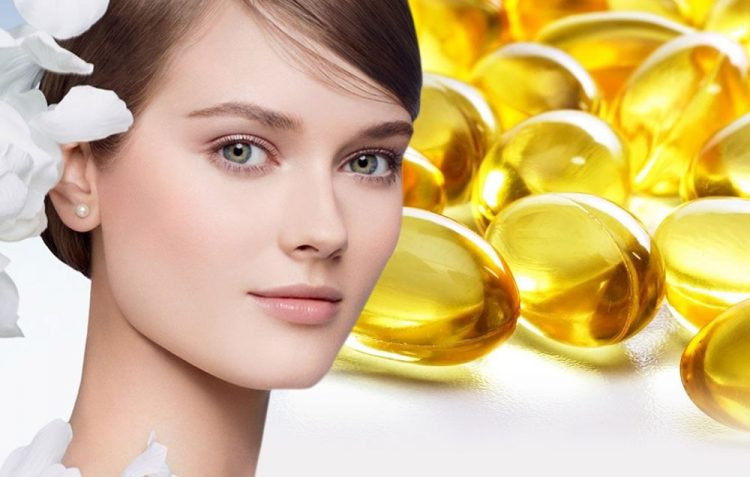 فوائد فيتامين e للبشرة والجلد