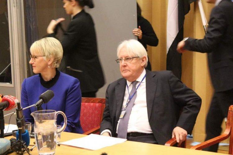 مكتب المبعوث الدولي لليمن يعلن تسليم طرفي المشاورات صيغ اتفاقيات وينتظر الرد