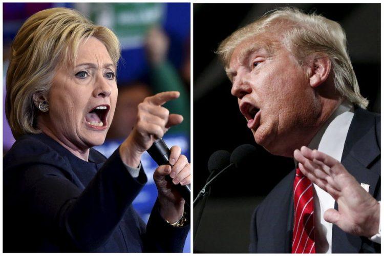"""هيلاري كلينتون لدونالد ترامب """"أنت أحمق"""" وهذا هو رد الرئيس الأمريكي"""