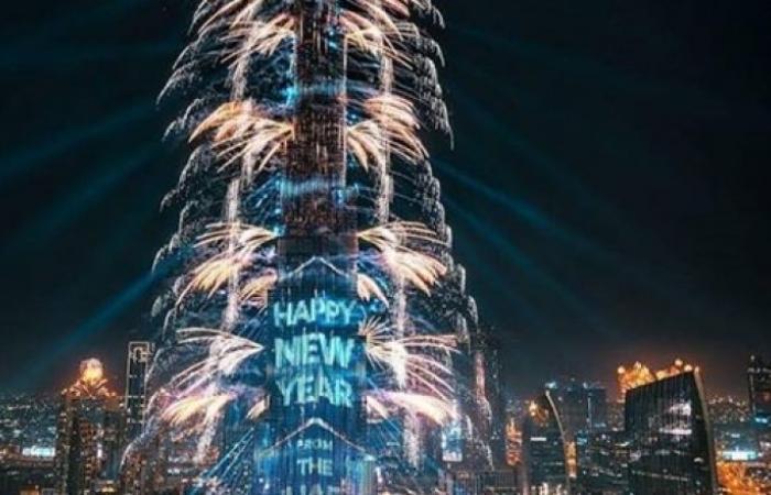 بعد احتفالات ليلة رأس السنة.. واجهة برج خليفة وإمارة رأس الخيمة تدخلان موسوعة غينيس
